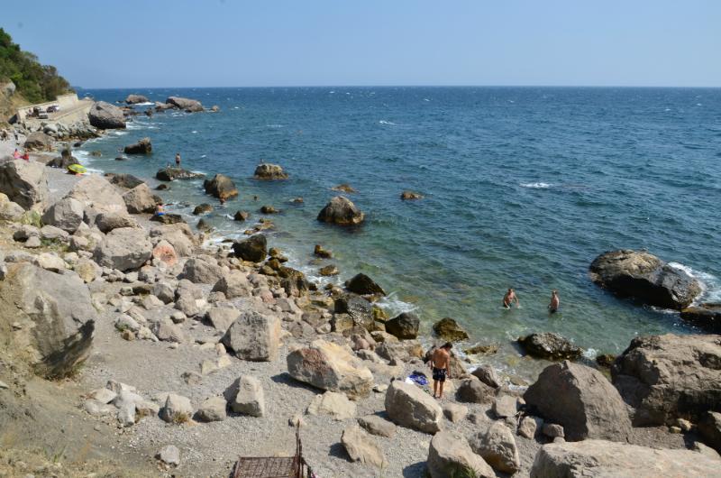 Дикий пляж Кастрополя